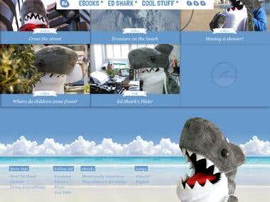 Website for Ed Shark