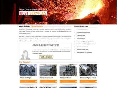 Global Trade Links Website - Ruby on Rails