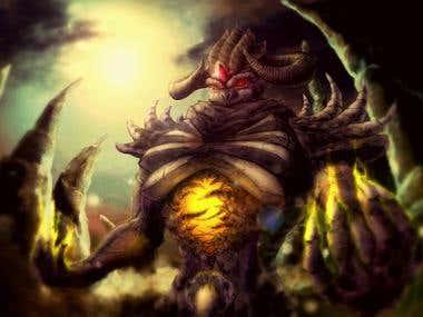Epic Fantasy creature