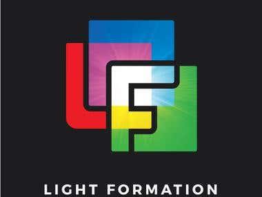 Logo for a Lighting Studio
