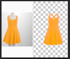 Clipping path/mask/Background remove/neck joint