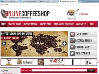 Online Coffeshop