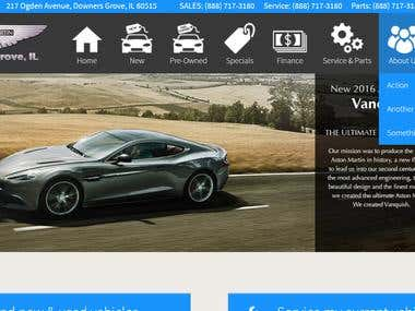 Car Dealer WordPress Ecommerce