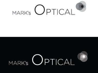 Marks optical Logo redesign