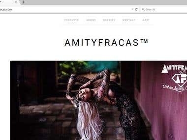 Fashion Design Website