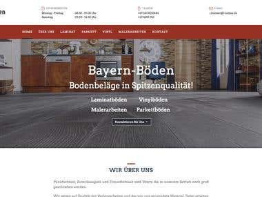 Meisterbetrieb Website