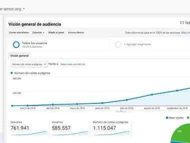 De 0 a 300.000 visitantes en 9 meses