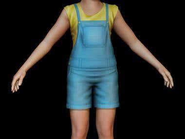 3D Human Modelling