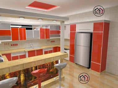 Interior Design, Furniture Design, Kitchen Design