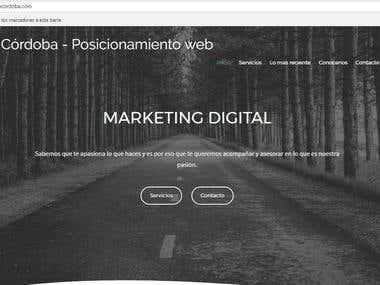 Diseño pagina web responsive (imagen)