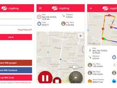JOGSHOG - Jogging Fitness app