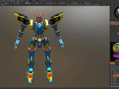 RetroType 3D Modeling And Texturing Demo