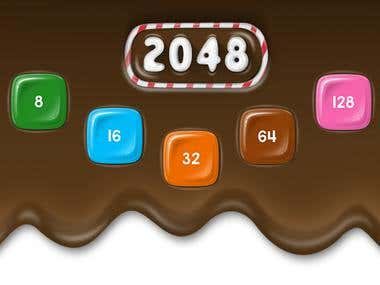 2048 - Puzzle Candy