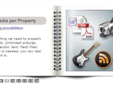 Flash AS3 Flipbook
