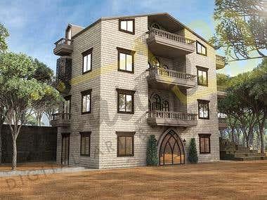 Lebanese Conventional House