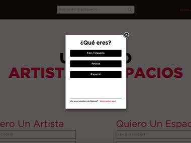 Opinoa: Art & Venue social network