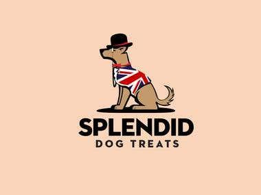 Splendid dog Treats - Logo Design