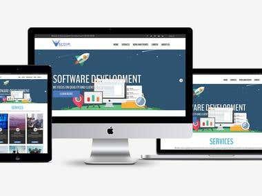 A responsive modern website