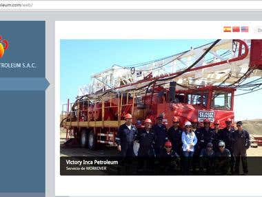 Pagina Web: Petrolera