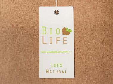 Etiqueta bio life