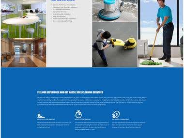 Wordpress Website for Flooring removal company