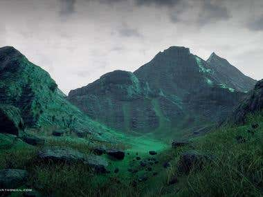 Mountain Valley - Unreal Engine 4
