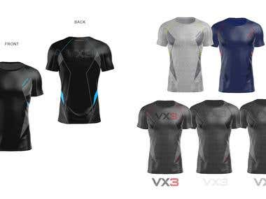 3D designs Activewear
