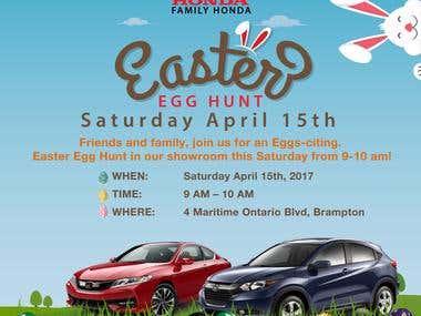 Easter Social Media ad