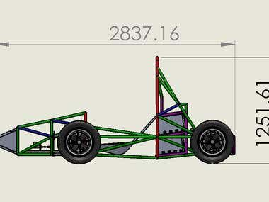Design a model on Solidworks