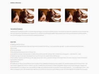 The Spa Website