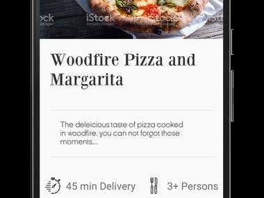 Restaurant App with full backend