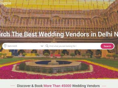Find wedding vendor