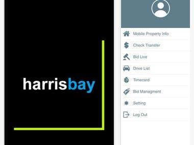 Harris Bay App
