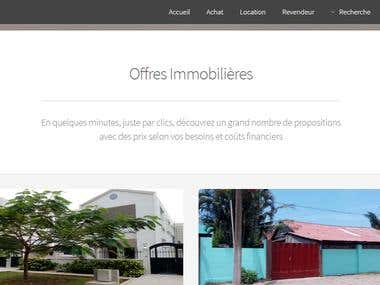 Website for Chez moi