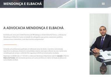 Website Mendonça e Elbachá