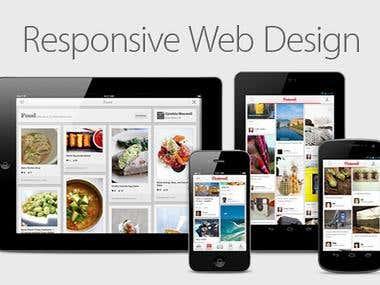 RESPONSIVE/ADAPTIVE WEBSITE DEVELOPMENT.