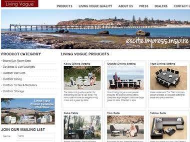 Living Vogue - E-commerce