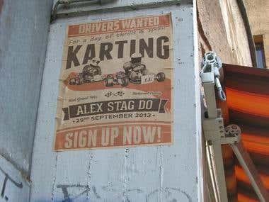 Karting/Poster