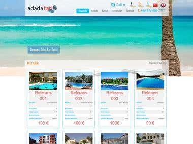 Room - Resort  Reservation System & Web Page