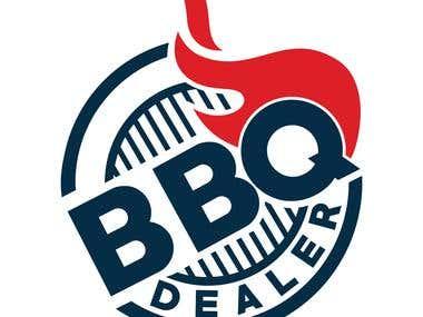 Logo for BBQ dealer.