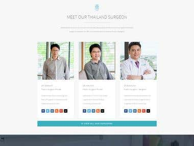 medical service website