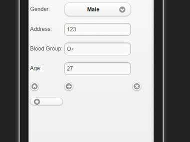 Mobile App (Android,IOS) Developed Using PhoneGAP