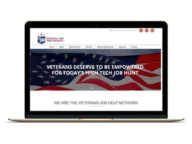 WordPress Website For Veterans Training