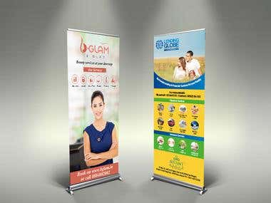 Roll up Banners (Standee Designs)