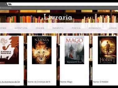 Site para Livraria usando PHP,HTML,CSS,Bootstrap