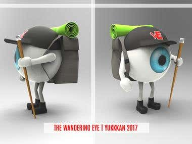 The Wandering Eye 3D model