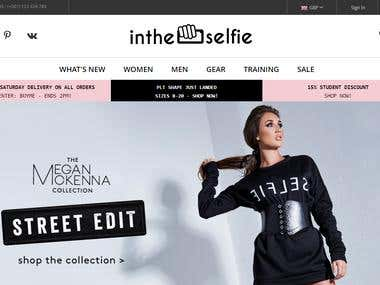 Newintheselfie E-commerce Store