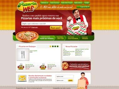 Complex restaurant website design