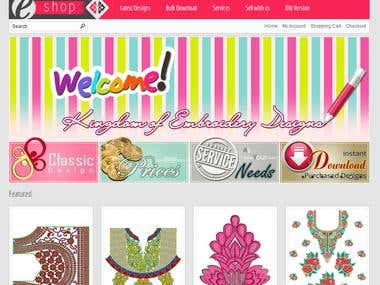 Online Embroidery Design Store