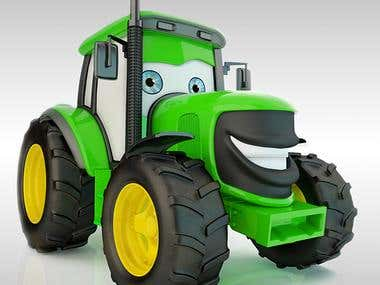 Tracky the Tractor